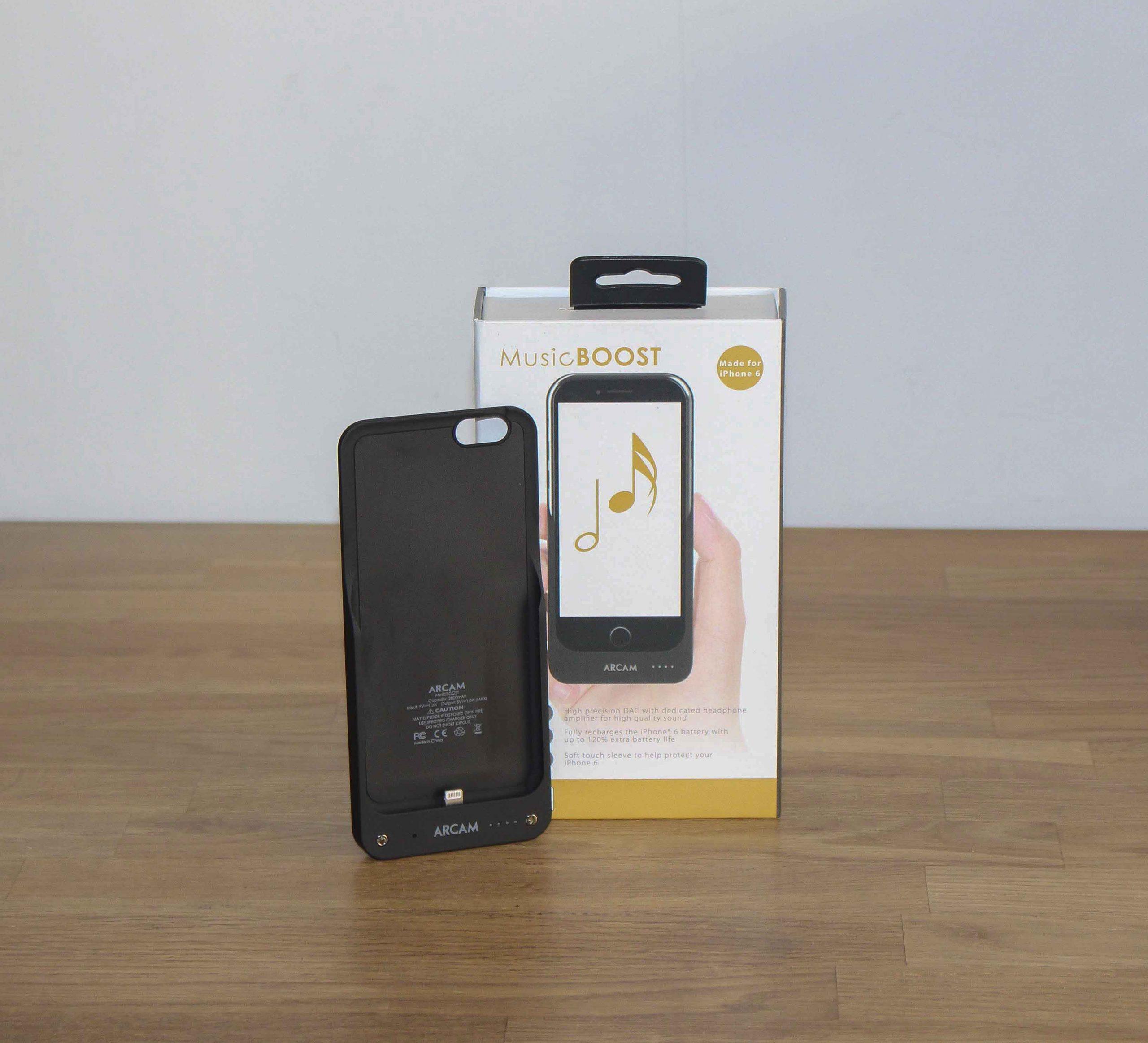 music boost phone case